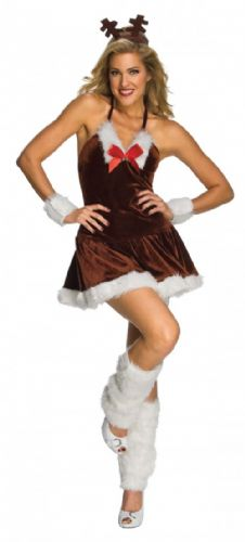 Festive Reindeer - Sexy Fancy Dress (Rubies)